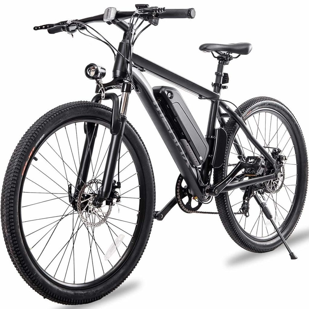 "one of the best electric bikes under 1000 - Merax 26"" Aluminum Electric Mountain Bike"