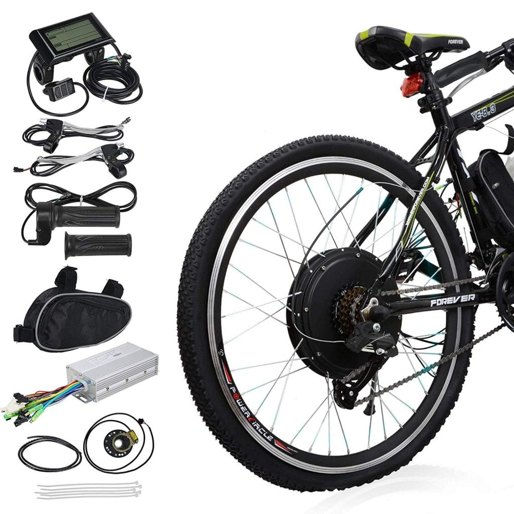 Voilamart 26-inch Rear Wheel Electric Bicycle Conversion Kit