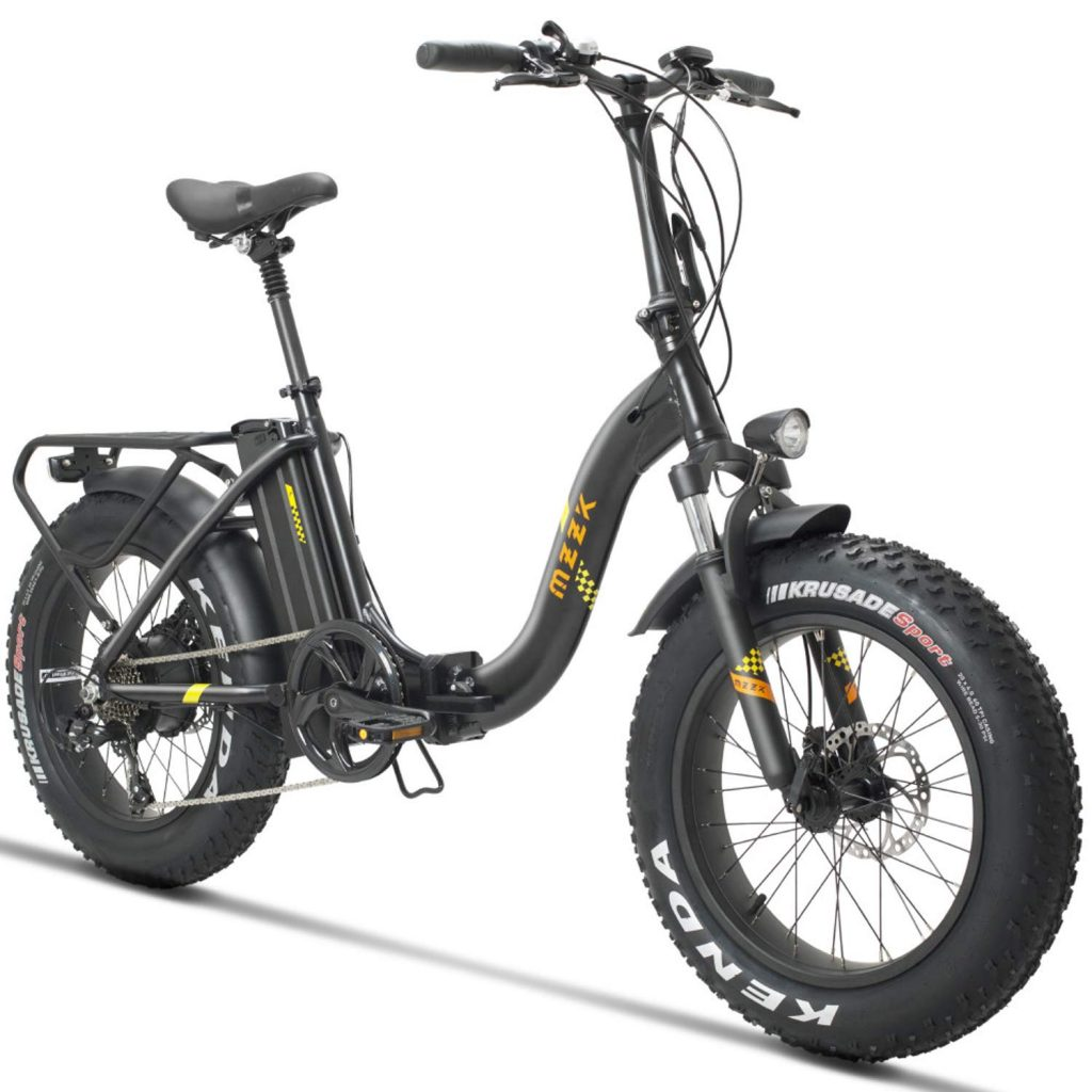 "MZZK 20"" Foldable Electric Mountain Bike"