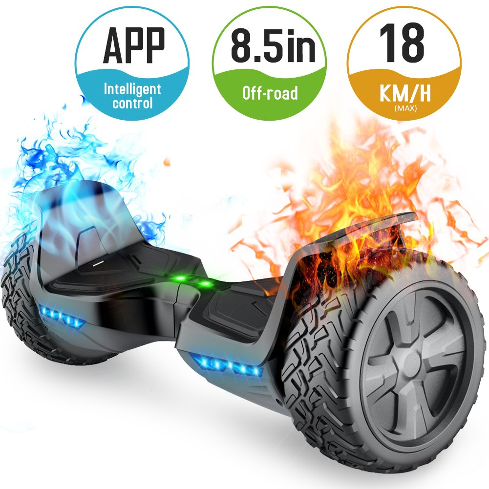 TOMOLOO V2 Eagle Hoverboard with Bluetooth Speaker