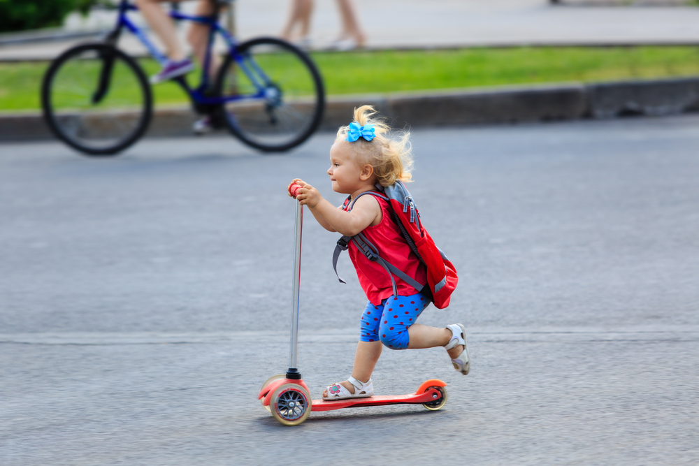 Ideal Scooters for Toddlers