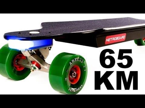 scooter maximum distance