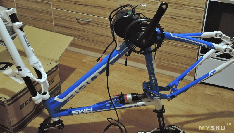 How to install electric bike motor