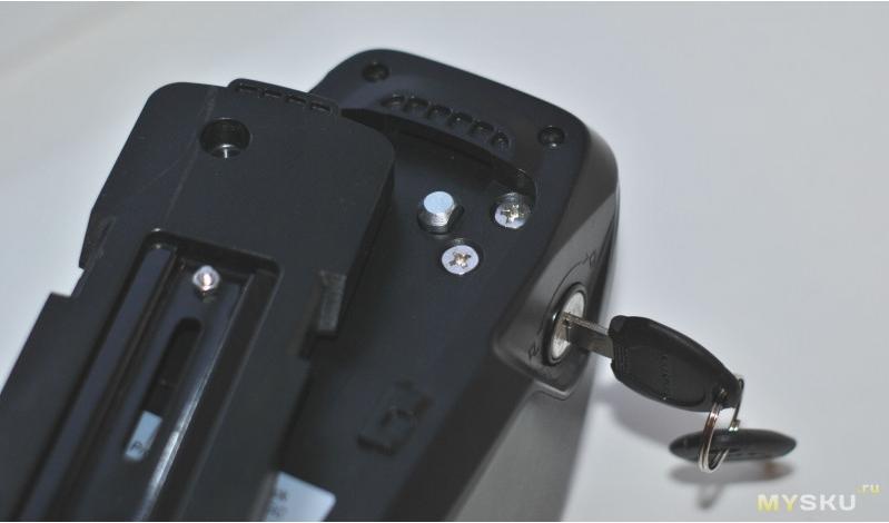electric bike battery lock