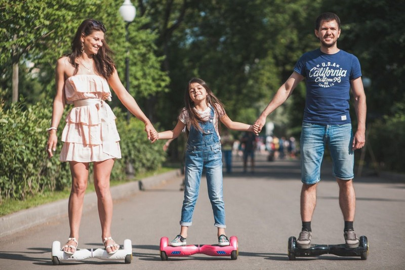 riding on a hoverboard will be a pleasure for you