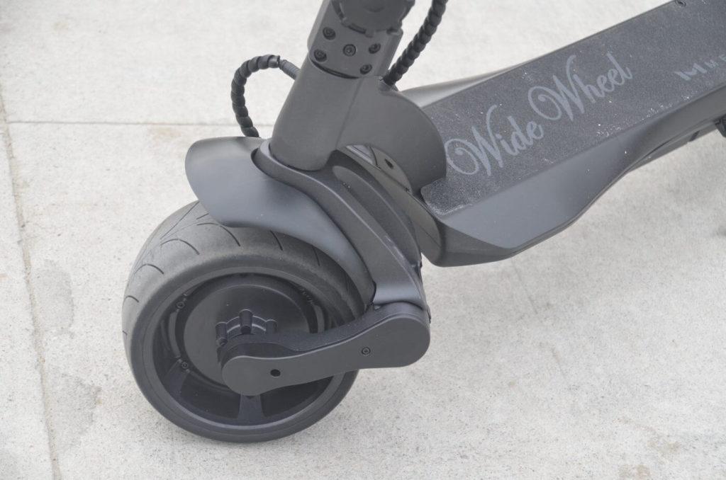 Mercane Wide Wheel suspension
