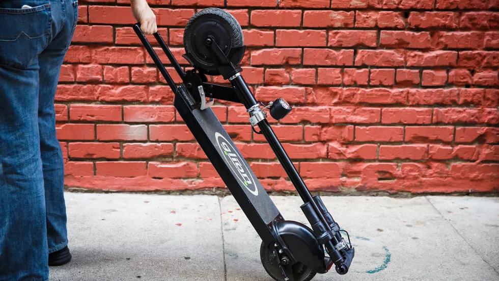 glion dolly scooter telescopic handlebars