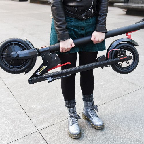 gotrax gzl v2 electric scooter build quality