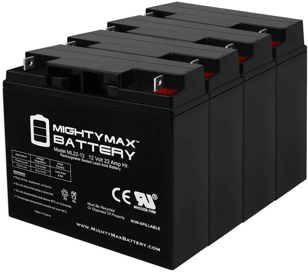 Mighty Max Battery 12V 22Ah